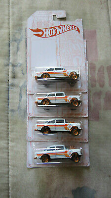 $14.99 • Buy 2020 Hot Wheels 52nd Anniv. Pearl And Chrome '55 Chevy Bel Air Gasser Lot Of 4