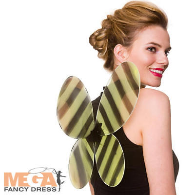 Bumblebee Wings Adults Fancy Dress Animal Insect Ladies Mens Costume Accessory • 5.99£