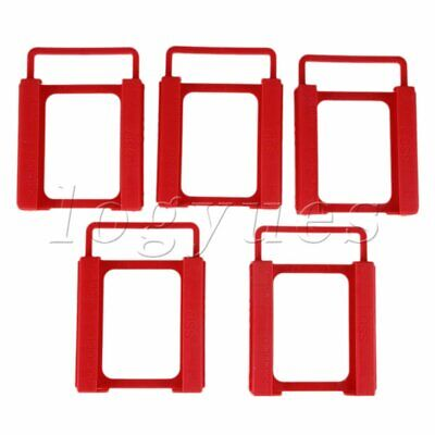 AU13.04 • Buy Plastic 2.5  To 3.5  SSD HDD Mounting Adapter Bracket Hard Drive Holder Set Of 5