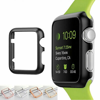 $ CDN5.07 • Buy For Apple Watch Series 5 4 3 2 1 Hard Case Snap-On Protective PC Cover Bumper