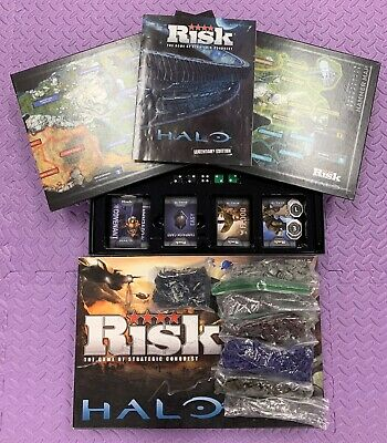 $37 • Buy RISK Halo Legendary Edition 2012 - Excellent Condition - Complete Set