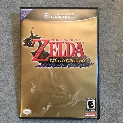 $45 • Buy Legend Of Zelda: The Wind Waker (GameCube, 2003) Complete With Disc Case Manual