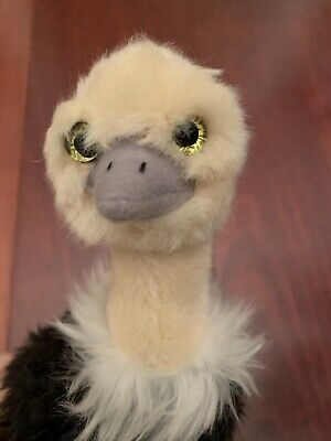 """$14.50 • Buy Vintage 10"""" Ostrich Plush, Stuffed Animal, Plush Toy, Gifts For Kids"""