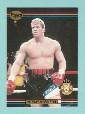 Boxing  -  Fax  Pax  -  Ringlords  No. 9  -  Tommy  Morrison  -  1991 • 2.45£