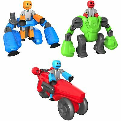 StikBot Figure - Mega Machines Knockout, Avalanche, Turbo Cycle One Supplied • 12.59£