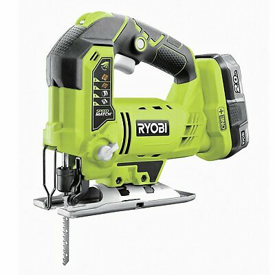 £120 • Buy Ryobi R18JS-0 Cordless Jigsaw With 2Ah Battery & Charger