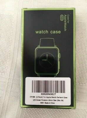 $ CDN6.78 • Buy 2 PACKS For Apple Watch ( Series 4 ) 44mm/42mm Tempered Glass Screen Protector
