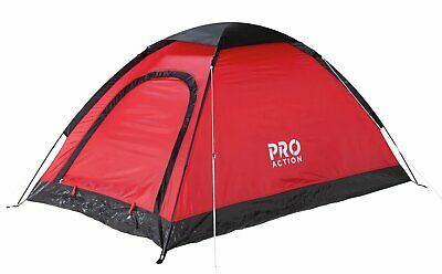 ProAction 2 Man 1 Room Dome Camping Tent • 20£