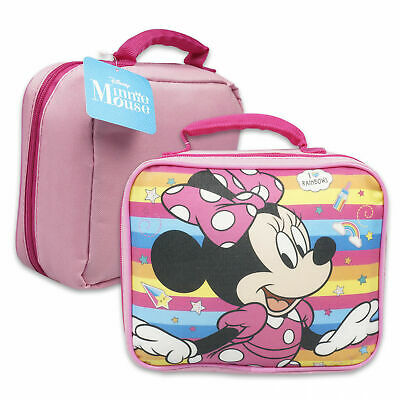 Minnie Mouse Disney Soft Lunch Box Bag Pink • 12.74£