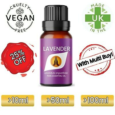AU1.83 • Buy LAVENDER Essential Oil Pure Natural Aromatherapy Oil