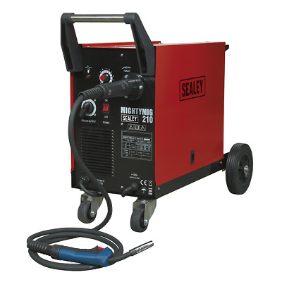 Sealey Professional Gas/No-Gas MIG Welder 210 Amp With Euro Torch Garage Tools • 497.81£