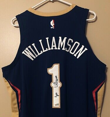 $239.50 • Buy Zion Williamson Signed New Orleans Pelicans Nike Authentic NBA Jersey FANATICS