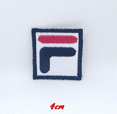 FiLA F Sports Logo Black Badge Iron On Sew On Embroidered Patch • 1.79£