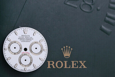 $ CDN1668.69 • Buy Rolex White Daytona Dial For Model 116520 Super Luminova FCD9876