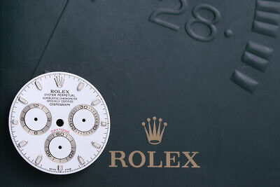 $ CDN1651.81 • Buy Rolex White Daytona Dial For Model 116520 Super Luminova FCD9877