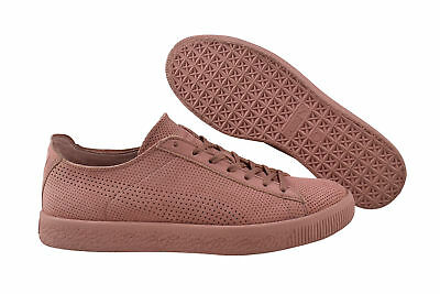 Puma Stampd Clyde Cameo Brown Trainers/Shoes Pink 362736 04 • 72.38£