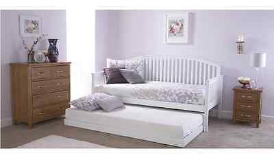 £338.10 • Buy Madrid White Single Trundle, Daybed Or Daybed With Trundle
