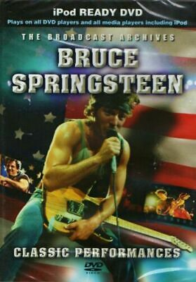 Bruce Springsteen Broadcast Archives Dvd New Sealed Classic Radio Performances • 4.49£
