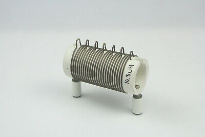 Air Coil, RF Inductor, 14.3 UH,diameter 54mm,long 90mm Wire 2MM CERAMIC • 49.20£