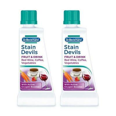 (TWO PACKS) Dr Beckmann Stain Devils Fruit & Drink 50g • 4.20£