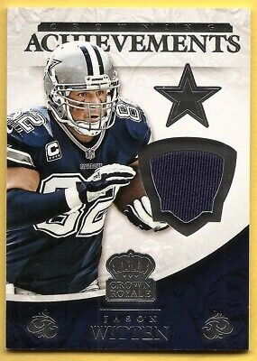 $0.99 • Buy 2015 Panini Crown Royale Jason Witten Crowning Achievements Jersey S/n 182/199
