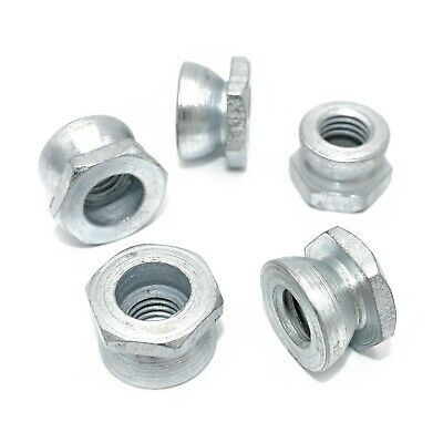 £3.39 • Buy M6 M8 M10 M12 M16 Security Shear Nuts  Zinc Use With Our Saddle / T Head Bolt