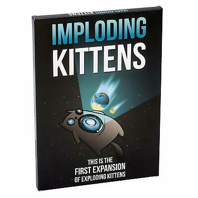 AU26.99 • Buy Imploding Kittens: First Expansion Of Exploding Kittens Family Fun Card Game