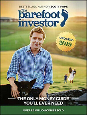AU28.99 • Buy The Barefoot Investor 2019 Update The Only Money Guide Youll Ever Need Paperback
