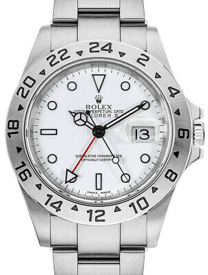 $ CDN9995.45 • Buy Rolex Explorer II Stainless Steel White Dial Mens 40mm Automatic Watch 16570 T