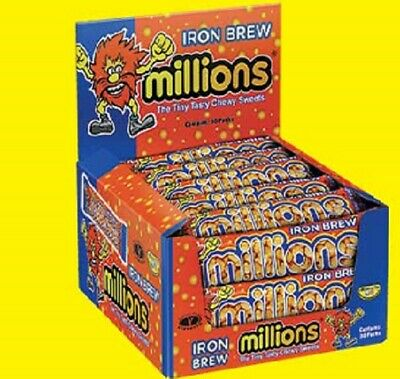 £1.74 • Buy MILLIONS SWEETS CANDY IRON BREW RARE SWEETS 1X40g Pack Vegan