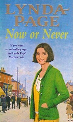£3.89 • Buy Lynda Page, Now Or Never, Very Good, Paperback