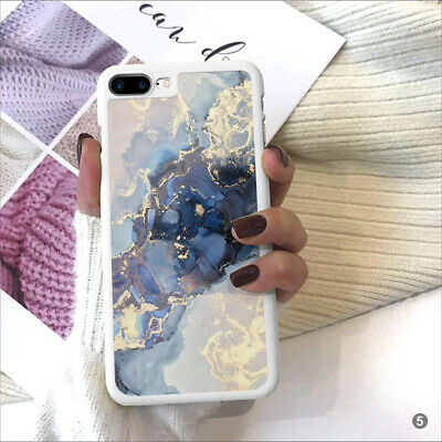 Marble Phone Case Cover For IPhone Samsung Huawei OnePlus Sony Xperia ETC 109-5 • 5.90£