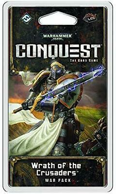 AU24.46 • Buy Warhammer 40K: Conquest The Card Game - Wrath Of The Crusaders War Pack SealedBZ
