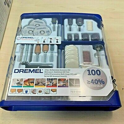Dremel 723-100 Piece Multipurpose Accessory Set Rotary Multi Tool 723 2615S723JA • 24.89£