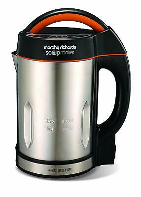 Morphy Richards Soupmaker Stainless Steel Soup Maker 48822 - 2 Yrs Guarantee N/O • 47.99£