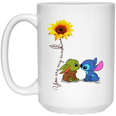$13.20 • Buy Cute Baby Yoda And Stitch, You Are My Sunshine, Star War Funny Gift 2