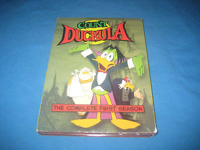 £70.80 • Buy Count Duckula - The Complete First Season Dvd Set