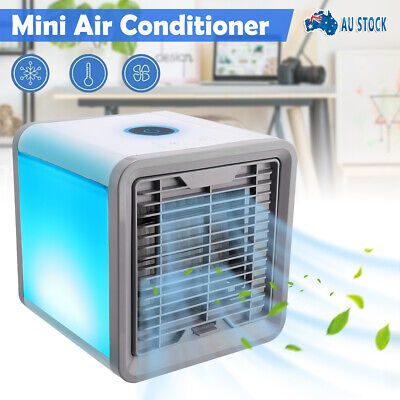 AU20.35 • Buy NEW Portable Mini Air Conditioner Cool Cooling For Bedroom Cooler Fan AUS