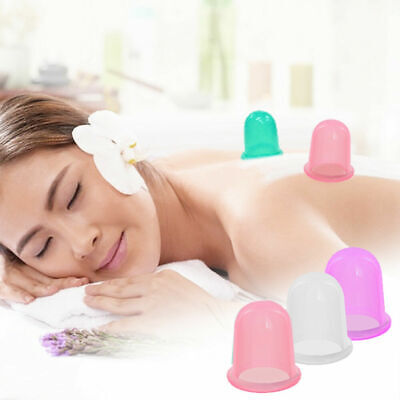 £6.99 • Buy Silicone Massage Vacuum Body Facial Cup Anti Cellulite Cupping  UK Anti Ageing