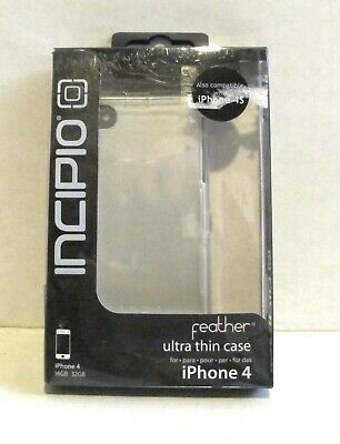 £9.44 • Buy Incipio White Feather Ultra Thin IPhone 4 Case TGT-IPH-517