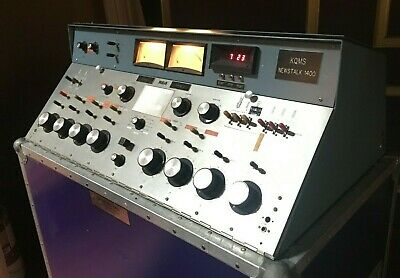 $6500 • Buy RCA BA-8A Broadcast Console With Extra Meter And Updated Knobs Vintage RARE
