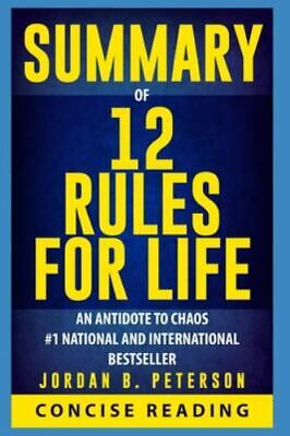AU15.20 • Buy Summary Of 12 Rules For Life: An Antidote To Chaos By Jordan B. Peterson, Bra...