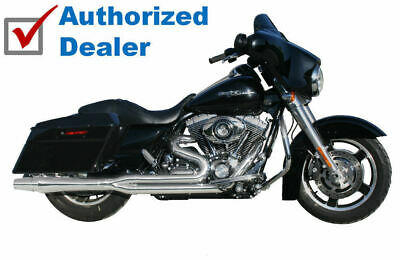 $1300 • Buy Chrome Thunderheader 2 Into 1 Exhaust Header Pipe System 17-20 Harley Touring M8