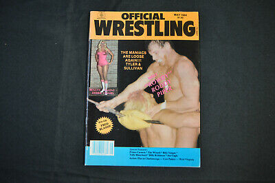 $ CDN12.39 • Buy Official Wrestling - May 1984 - Debbie Combs And Roddy Piper Cover! (f-vf)