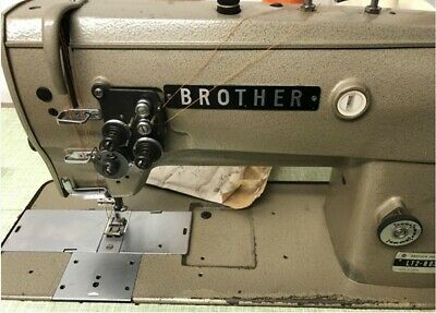 £540 • Buy Brother Lt2-b832-3 Needle Feed Twin Needle (1/2 /12mm) Industrial Sewing Machine