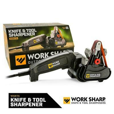 $83.57 • Buy Electric Knife And Tool Sharpener Sharpening Flexible Belt Corded Compact KIT
