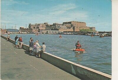 Castle Cornet, Guernsey. 1964 Postcard In Fair Condition. Used • 2.25£