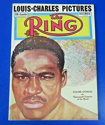 $12 • Buy December 1950 RING MAGAZINE ~ EZZARD CHARLES ~  ORIGINAL VINTAGE BOXING