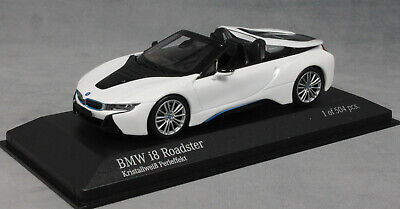 Minichamps BMW I8 Roadster In White Pearlescent 2018 410027031 1/43 NEW Ltd 504 • 52.99£