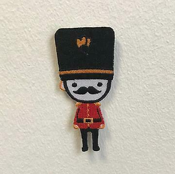 £2.49 • Buy Royal Guard London Moustache Badge Clothes Iron On Sew On Embroidered Patch